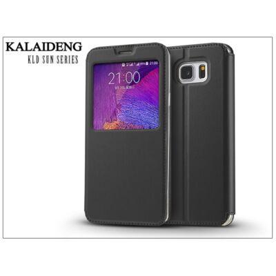 Samsung SM-N920 Galaxy Note 5 flipes tok - Kalaideng Sun Series View Cover - black