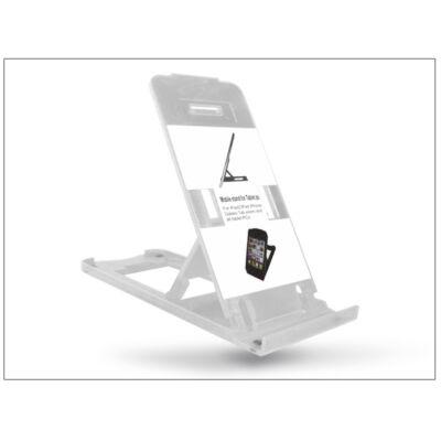 Univerzális asztali telefon + tablet tartó - átlátszó