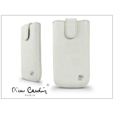 Pierre Cardin Slim univerzális tok - Samsung i9000 Galaxy S/i9070 Galaxy S Advance/Huawei Ascend G300 -White - 10. méret