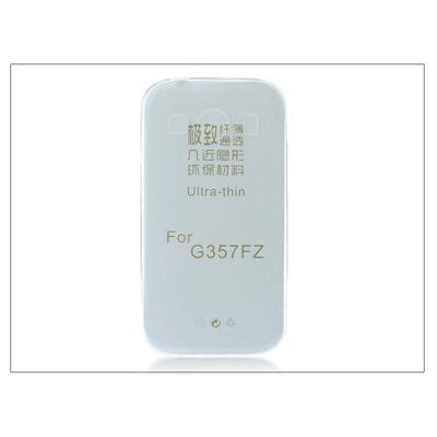 Samsung SM-G357FZ Galaxy Ace 4 szilikon hátlap - Ultra Slim 0,3 mm - transparent