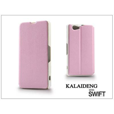 Sony Xperia Z1 Compact (D5503) flipes tok - Kalaideng Swift Series - pink