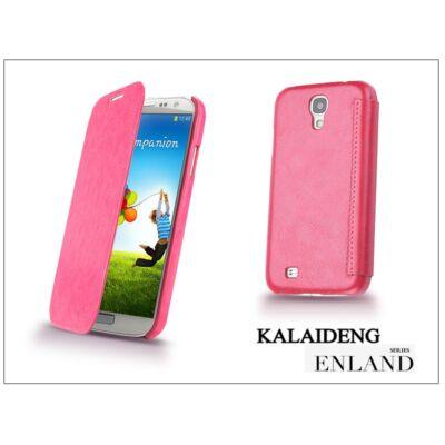 Samsung i9500 Galaxy S4 flipes tok - Kalaideng Enland Series - dark pink