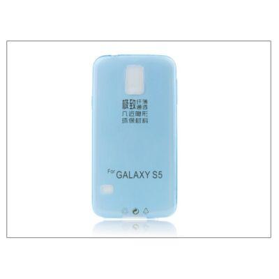 Samsung SM-G900 Galaxy S5 szilikon hátlap - Ultra Slim 0,3 mm - kék