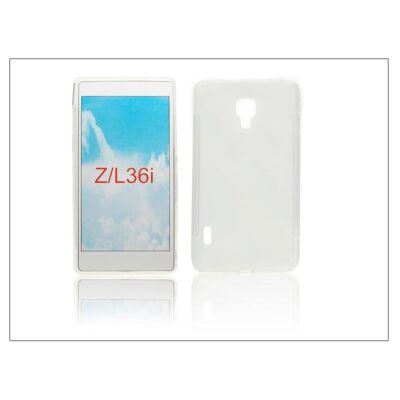 Sony Xperia Z (C6603) szilikon hátlap - Clear