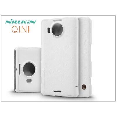 Microsoft Lumia 950 XL oldalra nyíló flipes tok - Nillkin Qin - fehér