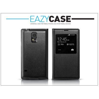 Samsung SM-G900 Galaxy S5 S View Cover flipes hátlap - EF-CG900B utángyártott - fekete