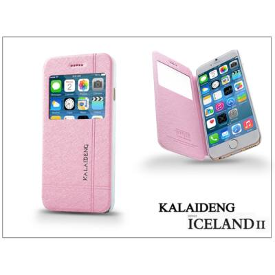 Apple iPhone 6 flipes tok - Kalaideng Iceland 2 Series View Cover - pink