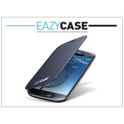 Samsung i9300 Galaxy S III flipes hátlap - EFC-1G6FBECSTD utángyártott - dark blue