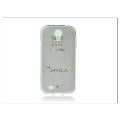 Samsung i9500 Galaxy S4 szilikon hátlap - Ultra Slim 0,3 mm - fekete