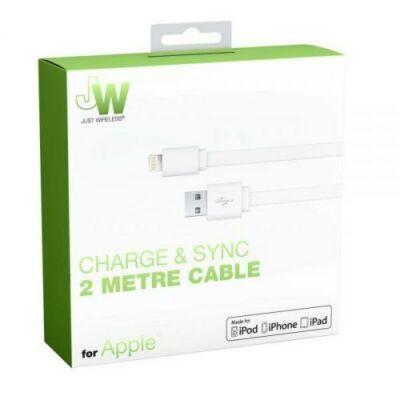 Just Wireless JW MFI Lightning töltő és adatkábel 2M