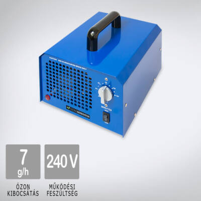 Ózongenerátor / Ozongenerator Blue 7000 Légtisztító készülék