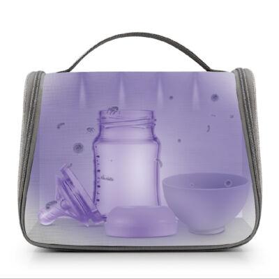 UV-C LED fertőtlenítő táska, beépített akkumulátorral