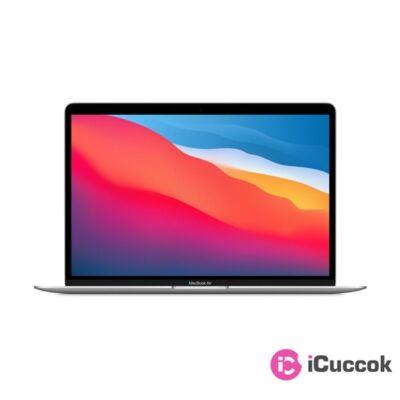 "Apple MacBook Air 13"" Retina/M1 chip nyolc magos CPU és hét magos GPU/8GB/256GB SSD/ezüst laptop"