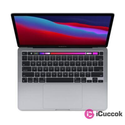"Apple MacBook Pro 13"" Retina/M1 chip nyolc magos CPU és GPU/8GB/512/asztroszürke laptop"
