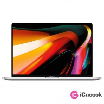 "Apple MacBook Pro 16"" Intel Core i7 HC 2.6GHz/16GB/512GB SSD/AMD Radeon Pro 5300M/ezüst laptop"
