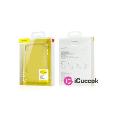Baseus Simplicity Series iPhone XR arany/átlátszó TPU tok