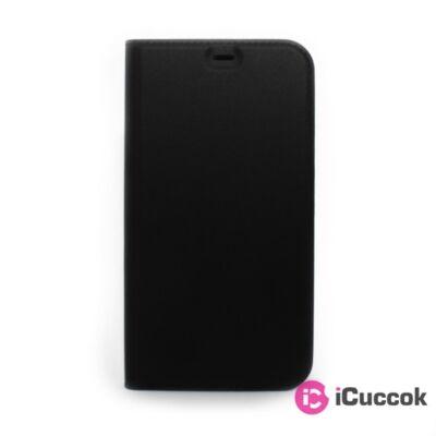 Cellect BOOKTYPE-IPH1254-BK iPhone 12 Mini fekete oldalra nyíló flip tok
