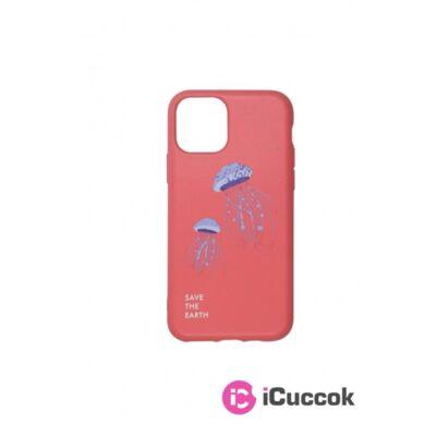Cellect CEL-GREEN-IPH11PCOJF GoGreen iPhone 11 Pro medúza mintás korall hátlap