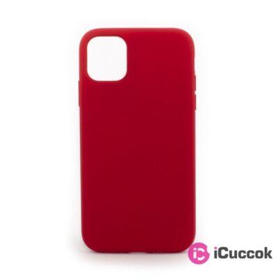 Cellect CEL-PREM-IPH1254-R iPhone 12 Mini piros prémium szilikon tok