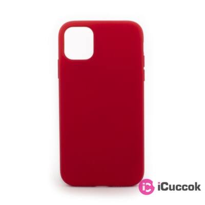 Cellect CEL-PREM-IPH1261-R iPhone 12/12 Pro piros prémium szilikon tok