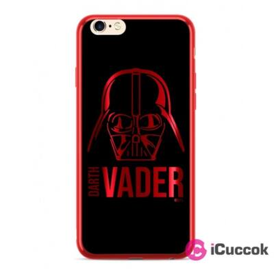 Darth Vader 010 iPhone XR piros szilikon hátlap