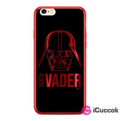 Darth Vader 010 iPhone X/XS piros szilikon hátlap