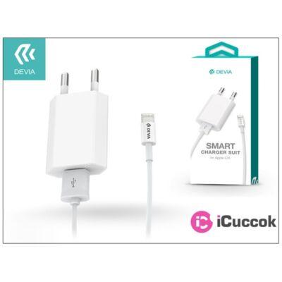 Devia ST000515 Smart 1m Lightning fehér hálózati töltő
