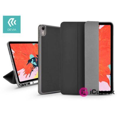 """Devia ST334061 Apple iPad Pro 10,2""""(2019/2020) fekete bőr védőtok"""