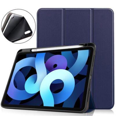 ESR TABCASE-IPAD4PEN-BL iPad Air 4 2020 kék tablet tok toll tartóval