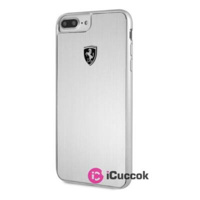 Ferrari Heritage iPhone 7 Plus aluminium kemény ezüst tok