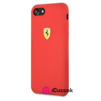 Ferrari iPhone 8 SF szilikon piros tok