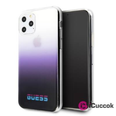 GUESS California iPhone 11 lila PC/TPU tok