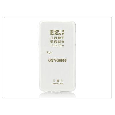 Samsung SM-G6000 Galaxy Grand On7 szilikon hátlap - Ultra Slim 0,3 mm - transparent