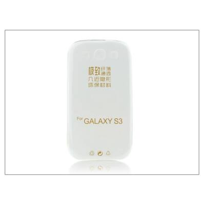Samsung i9300 Galaxy S III szilikon hátlap - Ultra Slim 0,3 mm - transparent