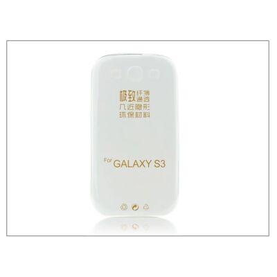 Samsung i9300 Galaxy S III szilikon hátlap - Ultra Slim 0,3 mm - transparent