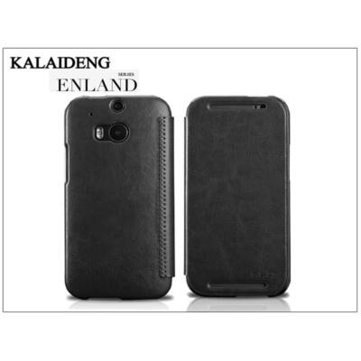 HTC One M8 flipes tok - Kalaideng Enland Series - black