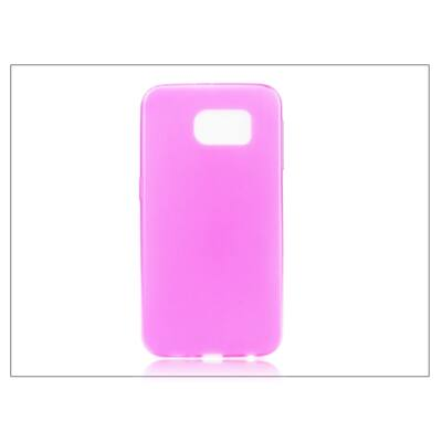 Samsung SM-G920 Galaxy S6 szilikon hátlap - Ultra Slim 0,3 mm - pink