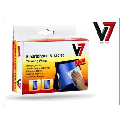 Mobiltelefon és Tablet képernyő tisztító kendő - 20 db/csomag