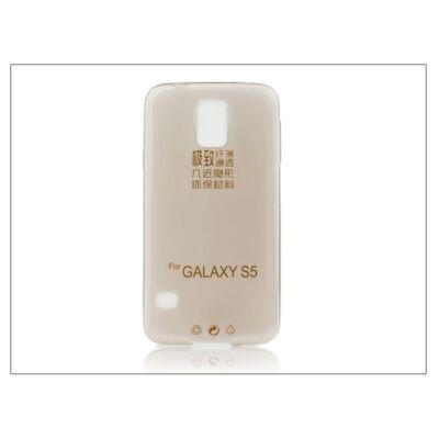 Samsung SM-G900 Galaxy S5 szilikon hátlap - Ultra Slim 0,3 mm - fekete