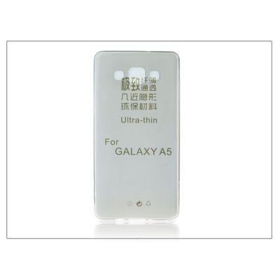 Samsung SM-A500 Galaxy A5 szilikon hátlap - Ultra Slim 0,3 mm - fekete