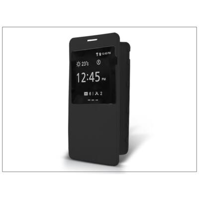 Samsung SM-G850 Galaxy Alpha S-View flipes tok - fekete