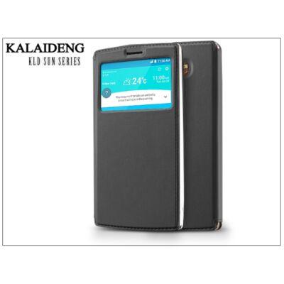LG G4 H815 flipes tok - Kalaideng Sun Series View Cover - black