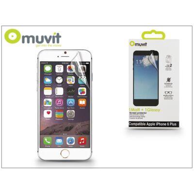 Apple iPhone 6 Plus/6S Plus képernyővédő fólia - Muvit Matt/Glossy - 2 db/csomag