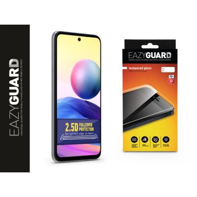 Xiaomi Redmi Note 10 5G/Poco M3 Pro 5G gyémántüveg képernyővédő fólia - Diamond Glass 2.5D Fullcover - fekete