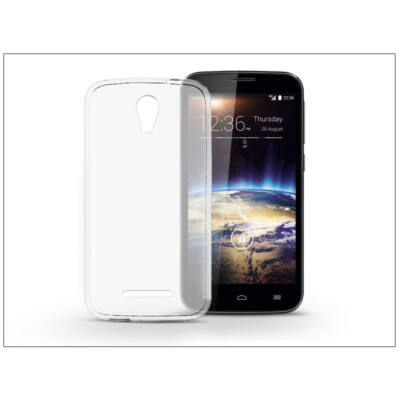 Vodafone Smart 4 Power 4G szilikon hátlap - Ultra Slim 0,3 mm - transparent