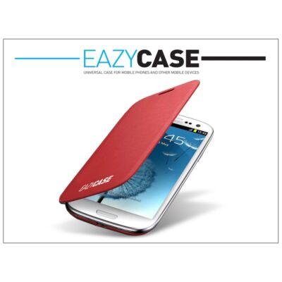 Samsung i9300 Galaxy S III flipes hátlap - EFC-1G6FRECSTD utángyártott - red