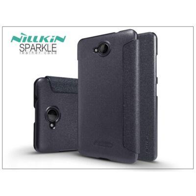 Microsoft Lumia 650 oldalra nyíló flipes tok - Nillkin Sparkle - fekete