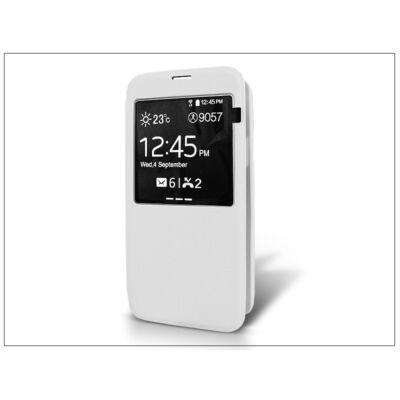 Samsung SM-G900 Galaxy S5 S-View flipes tok - fehér