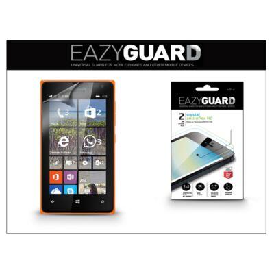 Microsoft Lumia 435/Lumia 532 képernyővédő fólia - 2 db/csomag (Crystal/Antireflex HD)