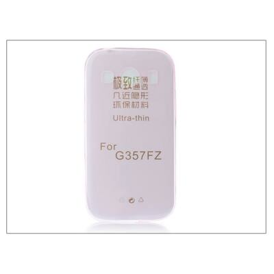 Samsung SM-G357FZ Galaxy Ace 4 szilikon hátlap - Ultra Slim 0,3 mm - pink